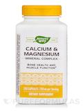 Calcium & Magnesium Mineral Complex 250 Capsules