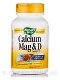 Calcium-Magnesium-Vitamin D 100 Capsules