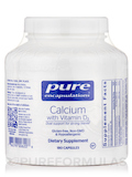 Calcium with Vitamin D3 - 180 Capsules