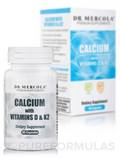 Calcium with Vitamins D3 and K2 - 60 Capsules