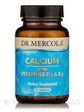 Calcium with Vitamins D3 & K2 - 30 Capsules
