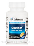CandideX 60 Vegetable Capsules