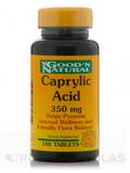 Caprylic Acid 350 mg - 100 Tablets