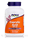 Caprylic Acid 600 mg 100 Softgels