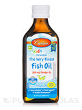 Carlson for Kids Norwegian The Very Finest Fish Oil 800 mg, Natural Lemon Flavor - 6.7 fl. oz (200 m