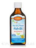 Carlson for Kids Norwegian The Very Finest Fish Oil 800 mg Omega-3s, Natural Orange Flavor - 6.7 fl.