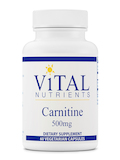Carnitine 500 mg - 60 Capsules