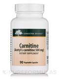 Carnitine (Acetyl L-carnitine 500 mg) 90 Vegetable Capsules