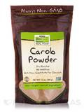NOW® Real Food - Carob Powder Roasted - 12 oz (340 Grams)