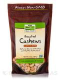 NOW Real Food® - Cashews (Roasted & Lightly Sea Salted) - 10 oz (284 Grams)