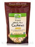 NOW® Real Food - Cashews, Unsalted (Certified Organic Whole, Raw) - 10 oz (284 Grams)