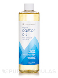 Castor Oil Cold Pressed & Cold Processed - 16 fl. oz (473 ml)