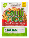 Riced Cauliflower with Tomatoes, Garlic & Herbs - 7.05 oz (200 Grams)