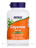 Cayenne 500 mg - 100 Capsules