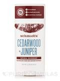 Cedarwood + Juniper Deodorant Stick - 2.65 oz (75 Grams)