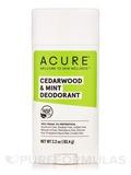 Cedarwood & Mint Deodorant - 2.2 oz (62.4 Grams)