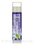 Certified Organic Coconut Oil Infused Lip Balm, Peppermint - 1 Tube (0.15 oz / 4.25 Grams)