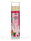 Certified Organic Coconut Oil Infused Lip Balm, Watermelon - 1 Tube (0.15 oz / 4.25 Grams)