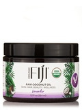 Organic Fiji® - Raw Coconut Oil, Lavender - 12 fl. oz (354 ml)
