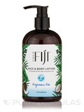 Face & Body Lotion - Infused with Raw Coconut Oil - Fragrance Free - 12 oz (354 ml)