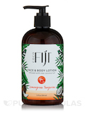 Certified Organic Coconut Oil Lotion - Lemongrass Tangerine - 12 oz (354 ml)
