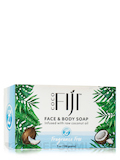 Face & Body Soap - Infused with Raw Coconut Oil - Lemongrass Tangerine - 7 oz (198 Grams)