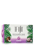Face & Body Soap - Infused with Raw Coconut Oil - Lavender - 7 oz (198 Grams)