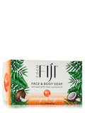 Coco Fiji™ Face & Body Coconut Oil Infused Bar Soap, Lemongrass Tangerine - 7 oz (198 Grams)