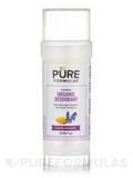 Certified Organic Deodorant, Lemon Lavender - 2.5 oz (71 Grams)