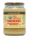 100% Certified Organic Honey (Raw, Unprocessed, Unpasteurized) - 32 oz (907 Grams)