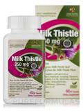 Certified Organic Milk Thistle 350 mg 60 Capsules
