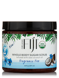 Certified Organic Coconut Oil Body Scrub - Fragrance Free Sugar Scrub - 20 oz (566 Grams)