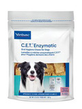C.E.T.® Enzymatic Oral Hygiene Chews For Dogs, Medium (26-50 lbs) - 30 Chews