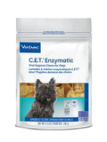 C.E.T.® Enzymatic Oral Hygiene Chews For Dogs, Small (11-25 lbs) - 30 Chews