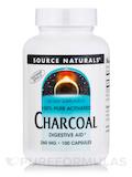 Charcoal 260 mg 100 Capsules