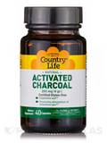 Charcoal (Natural Activated) - 40 Capsules