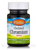 Chelated Chromium 200 mcg - 100 Tablets