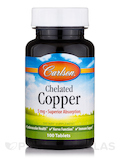 Chelated Copper - 100 Tablets