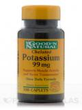 Chelated Potassium 99 mg - 100 Caplets