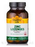 Cherry Zinc Lozenges - 60 Tablets