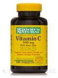 Chewable Vitamin C 500 mg with Rose Hips (Orange Flavor) - 100 Tablets
