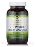 Chewable Calcium Magnesium Dark Chocolate with Organic Cocoa - 90 Vegetarian Chewables