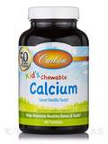 Carlson for Kids Chewable Calcium (Vanilla) 250 mg - 60 Tablets