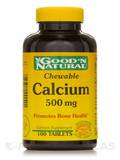 Chewable Calcium 500 mg 100 Tablets