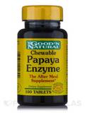 Chewable Papaya Enzyme - 100 Tablets