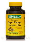 Chewable Super Papaya Enzyme Plus 180 Tablets
