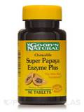 Chewable Super Papaya Enzyme Plus - 90 Tablets