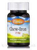 Chew-Iron Natural Grape Flavor 27 mg 30 Tablets