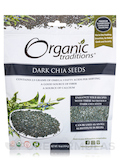 Dark Chia Seeds - 16 oz (454 Grams)