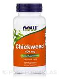 Chickweed 400 mg - 100 Capsules